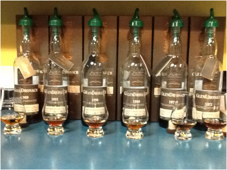 Glendronach bottles from Beers to You, the website of Don Tse, the Don of Beer